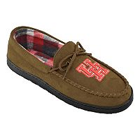 Men's Houston Cougars Microsuede Moccasins