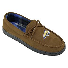 Men's Montana State Bobcats Microsuede Moccasins