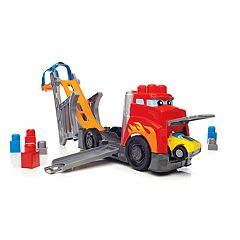 Mega Bloks Mega First Builders Fast Tracks Racing Rig