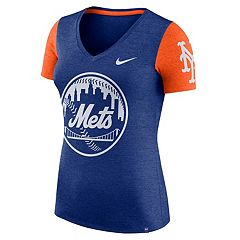 Women's Nike New York Mets Dri-FIT Touch Tee