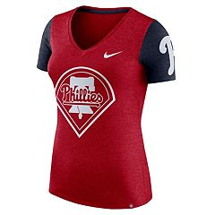 Women's Nike Philadelphia Phillies Dri-FIT Touch Tee
