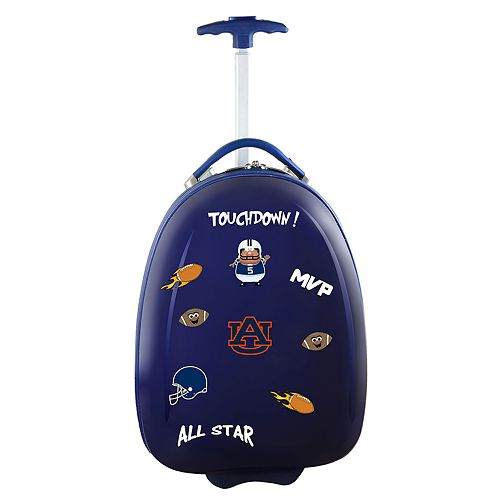 Youth Auburn Tigers Wheeled Pod Luggage