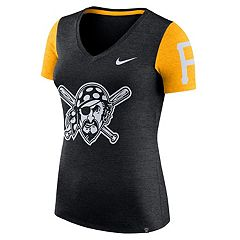 Women's Nike Pittsburgh Pirates Dri-FIT Touch Tee