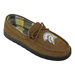 Men's San Jose State Spartans Microsuede Moccasins