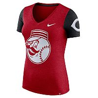 Women's Nike Cincinnati Reds Dri-FIT Touch Tee