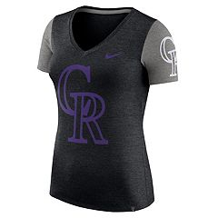 Women's Nike Colorado Rockies Dri-FIT Touch Tee