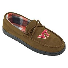 Men's Virginia Tech Hokies Microsuede Moccasins