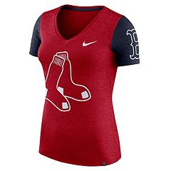 Women's Nike Boston Red Sox Dri-FIT Touch Tee