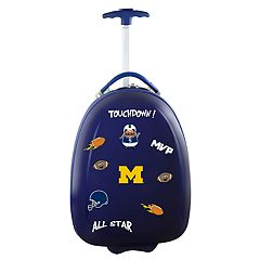 Youth Michigan Wolverines Wheeled Pod Luggage