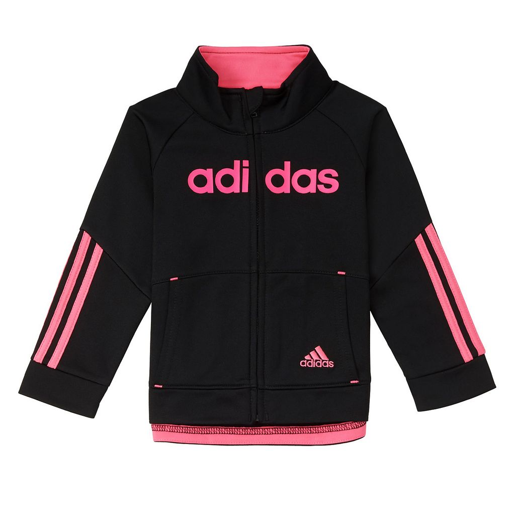 Girls 4-6x adidas Linear Tricot Jacket & Pants Set