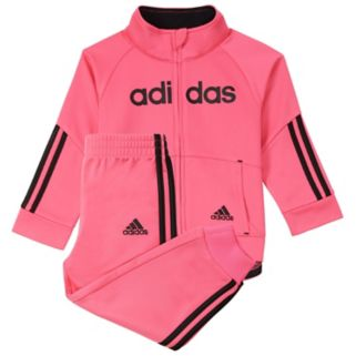 Girls 4-6x adidas Linear Tricot Jacket & Pants Set