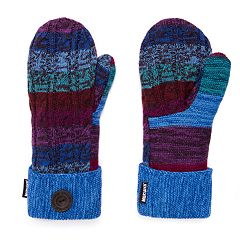 Women's MUK LUKS Faux Fur-Lined Pot Holder Mittens