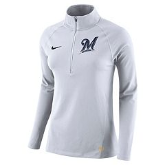 Women's Nike Milwaukee Brewers Core Pullover