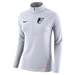 Women's Nike Baltimore Orioles Core Pullover
