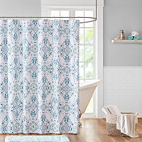 Madison Park Erica Sateen Shower Curtain