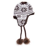 Women's MUK LUKS Snowflake Trapper Hat