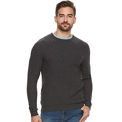 Men's Apt. 9 ® Modern-Fit Textured Stretch Soft Touch Layering Sweater