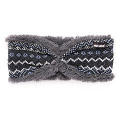 Women's MUK LUKS Faux-Fur Reversible Headband