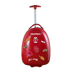 Youth Oklahoma Sooners Wheeled Pod Luggage