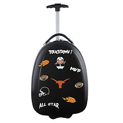 Youth Texas Longhorns Wheeled Pod Luggage