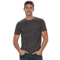Men's Marc Anthony Slim-Fit Shadow Dye Marled Crewneck Tee