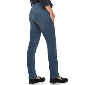 Women's SONOMA Goods for Life? Midrise Slim Fit Straight-Leg Jeans