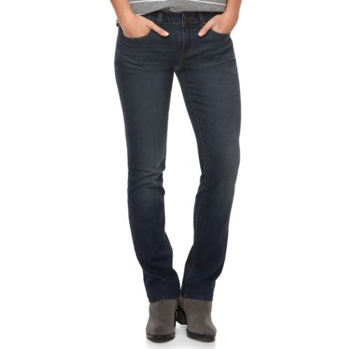 Women's Sonoma Goods For Life™ Slim Fit Straight Leg Jeans by Kohl's