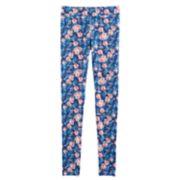 Girls 7-16 American Girl Floral Jersey Leggings