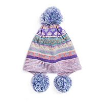 Women's MUK LUKS True Love Triple Pom-Pom Beanie