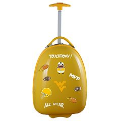 Youth West Virginia Mountaineers Wheeled Pod Luggage