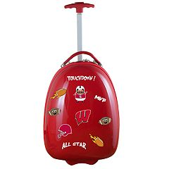 Youth Wisconsin Badgers Wheeled Pod Luggage