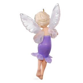 Fairy Messenger No. 13 Lavender 2017 Hallmark Keepsake Christmas Ornament