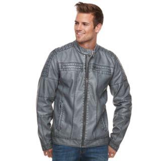 Men's XRAY Slim-Fit Moto Jacket