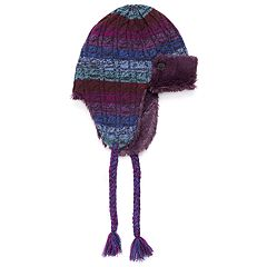 Women's MUK LUKS Fairisle Trapper Hat
