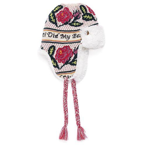 Women's MUK LUKS Fairisle Trapper Hat
