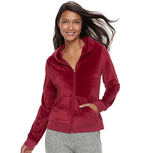Women's Juicy Couture Supersoft Velour Jacket