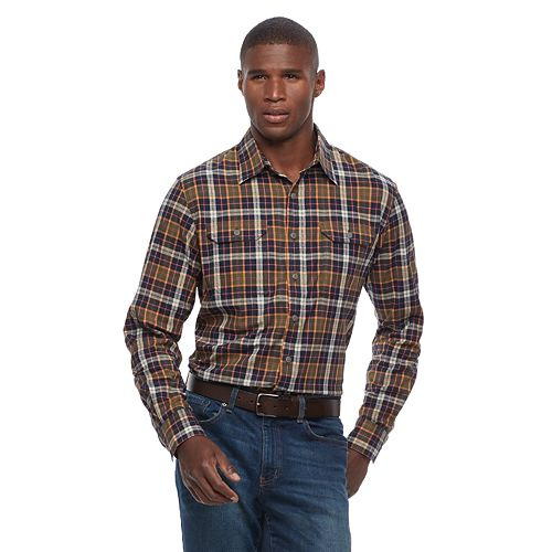 105ef0f3440 Men s Croft   Barrow® Classic-Fit Roll-Tab Button-Down Shirt