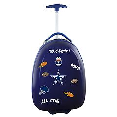 Youth Dallas Cowboys Wheeled Pod Luggage