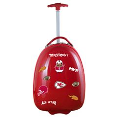 Youth Kansas City Chiefs Wheeled Pod Luggage