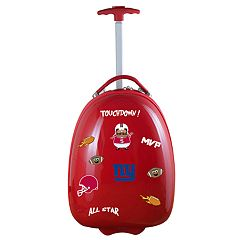 Youth New York Giants Wheeled Pod Luggage