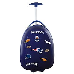 Youth New England Patriots Wheeled Pod Luggage