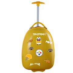 Youth Pittsburgh Steelers Wheeled Pod Luggage