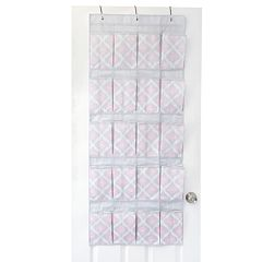 The Macbeth Collection Closet Candie Ikat 20-Pocket Over The Door Shoe Organizer