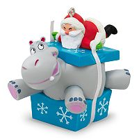 I Want A Hippopotamus For Christmas Santa Musical 2017 Hallmark Keepsake Christmas Ornament