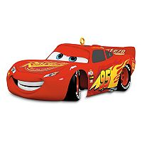 Disney / Pixar Cars 3 Lightning McQueen Sound 2017 Hallmark Keepsake Christmas Ornament