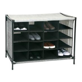 Simplify 16-Compartment Shoe Storage Cubby
