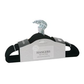 Simplify 25-pack Slim Velvet Suit Hangers