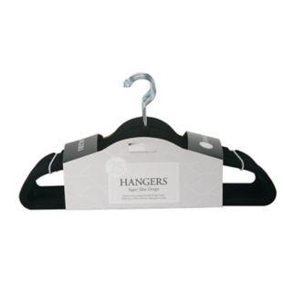 Simplify 25-pack Slim Velvet Suit Hangers