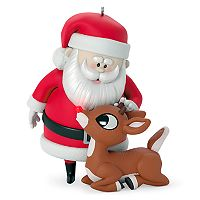 Rudolph The Red-Nosed Reindeer Won't You Guide My Sleigh Tonight? Light-Up 2017 Hallmark Keepsake Christmas Ornament
