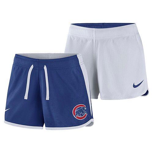 the latest 39e96 dd30e Women's Nike Dri-FIT Chicago Cubs Reversible Mesh Shorts